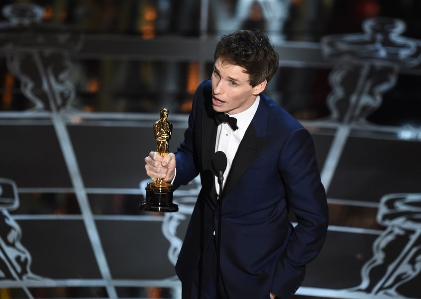 Actor in a Leading Role - Eddie Redmayne -oscars 2015