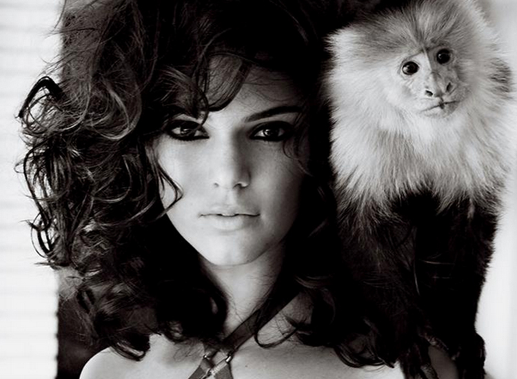 Photographer Mario Testino Shoots Kendall Jenner for March 2015 Allure Magazine