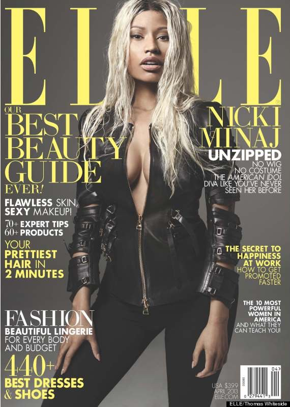 Nicki Minaj Elle cover 2015