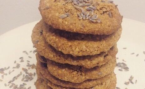 Oh La Lavender Oatmeal Raisin Cookies