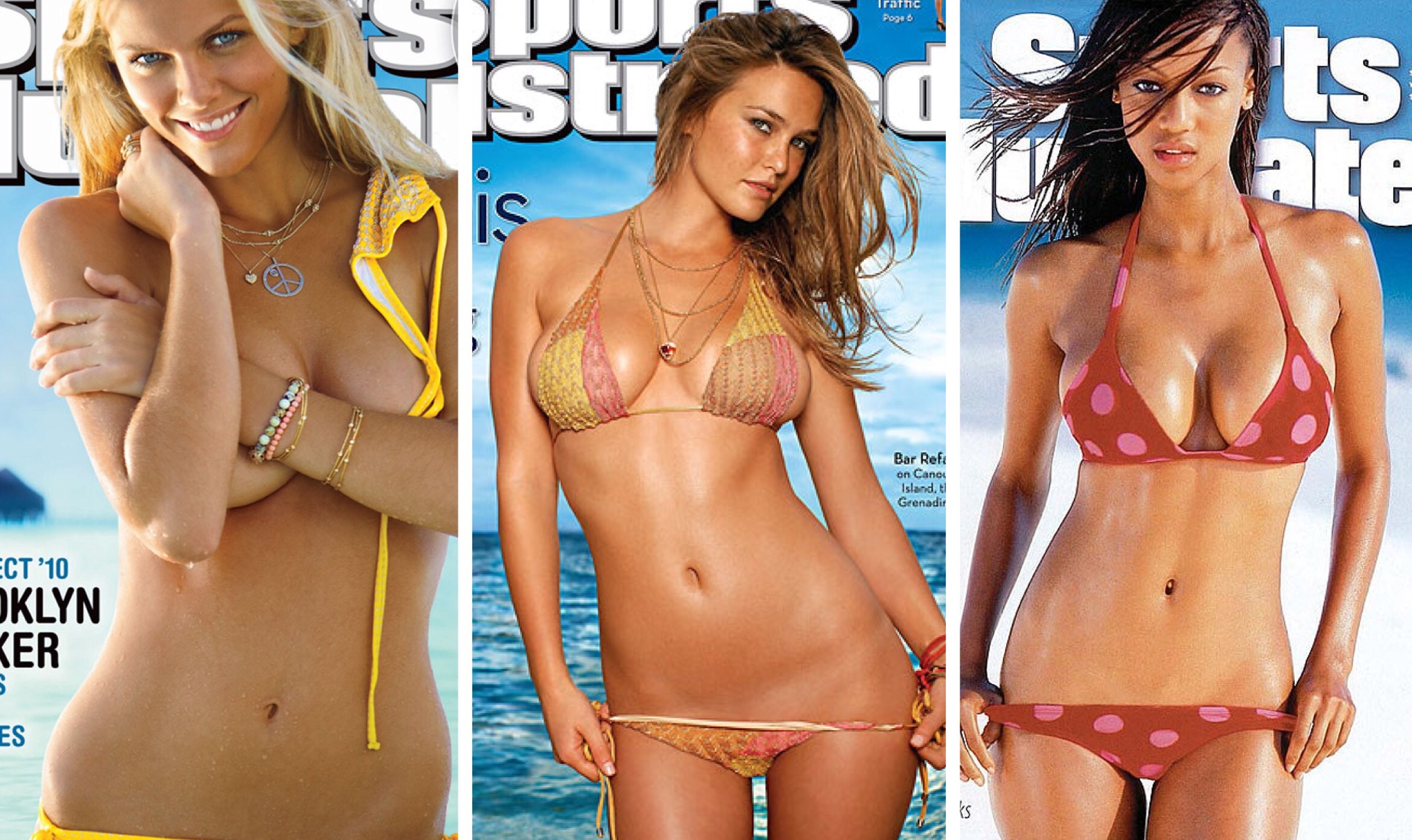 Sports illustrated swimsuit covers
