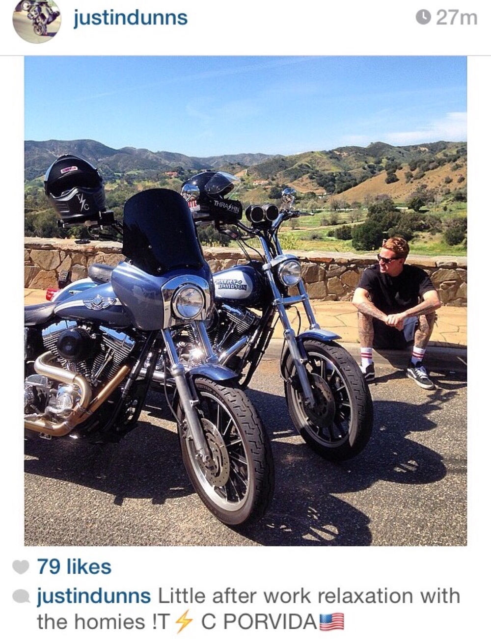 American Harley Davidson freedom ride