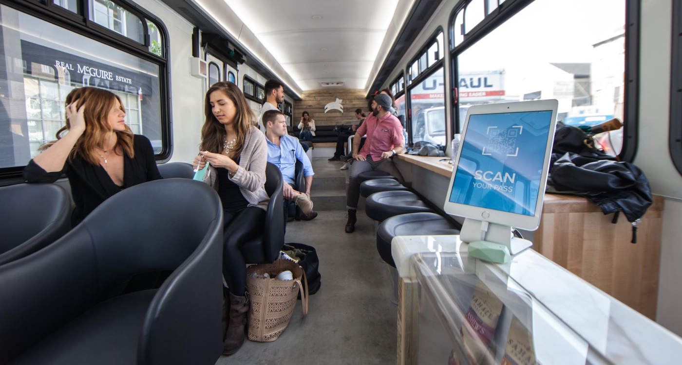 Leap Buses Hit San Francisco's Streets This Week