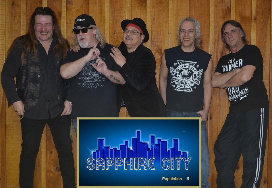 Sapphire City A Band The Rocks