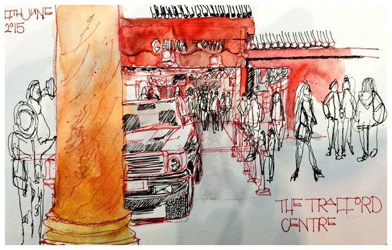 Sketching Stories of American Urban Life