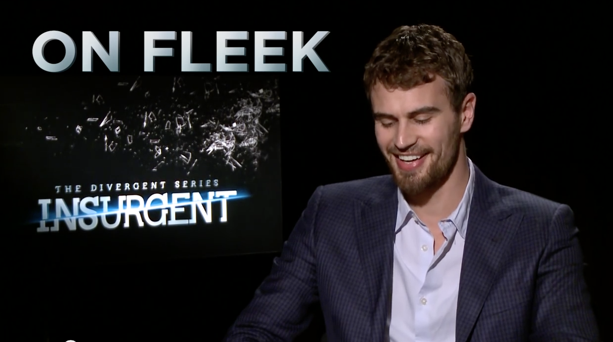 Insurgent Cast On Fleek, Slays Interview Yasss! – Slang Terms Game
