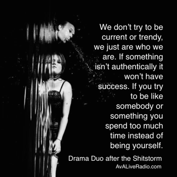 Drama Duo after the Shitstorm success music trend quote