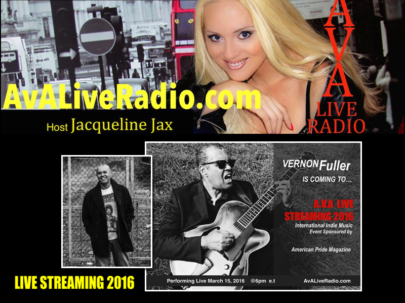 Vernon Fuller on A.V.A Live Streaming 2016 with Jacqueline Jax
