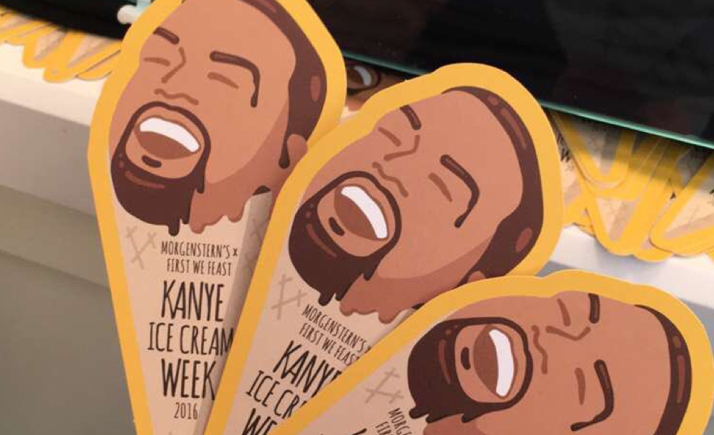 Highlights from Kanye Ice Cream Week