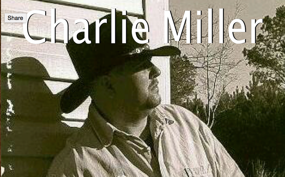 Songwriter Charlie Miller Teling Stories That Need to Be Told