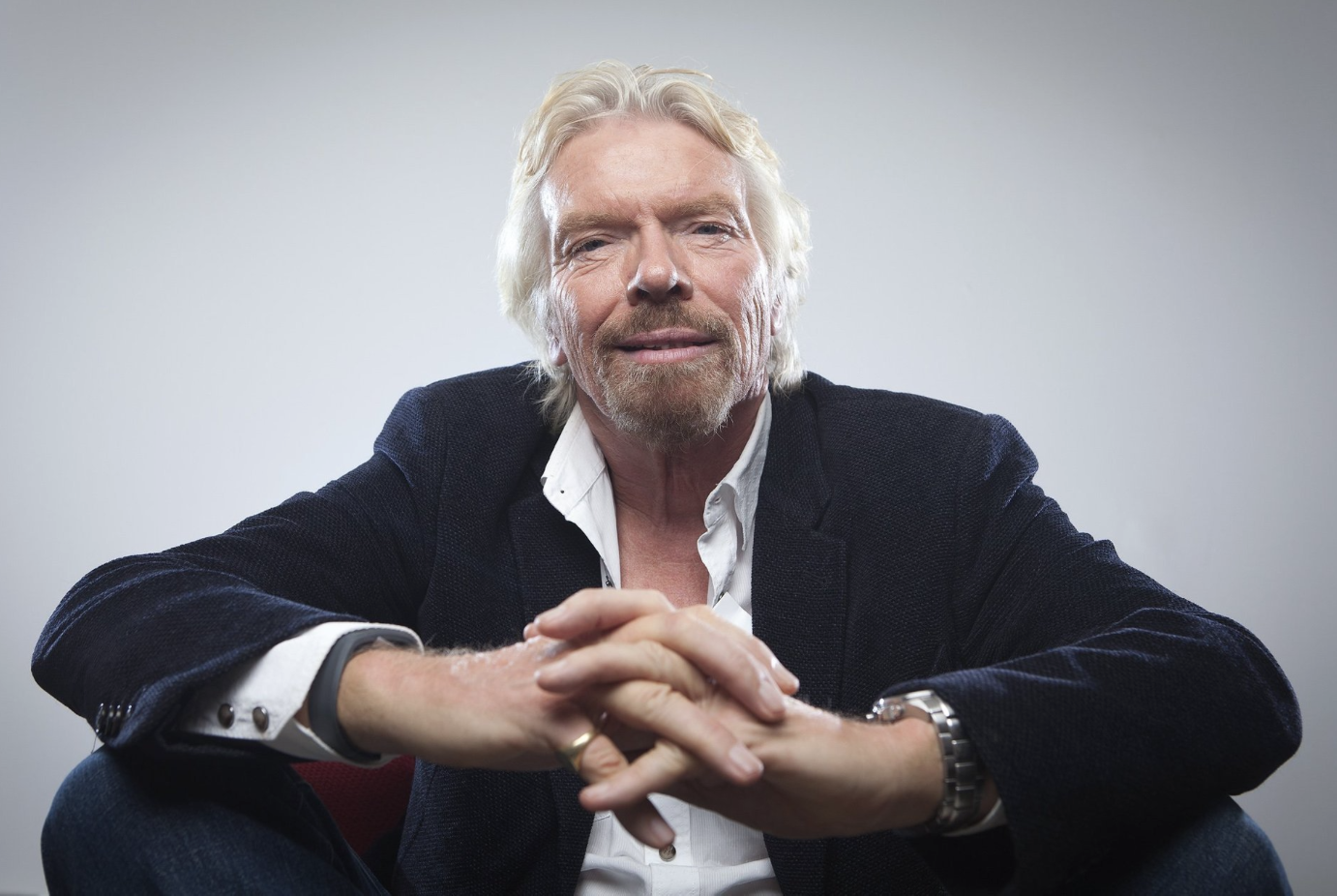 Richard Branson Believes Success is an Adventure