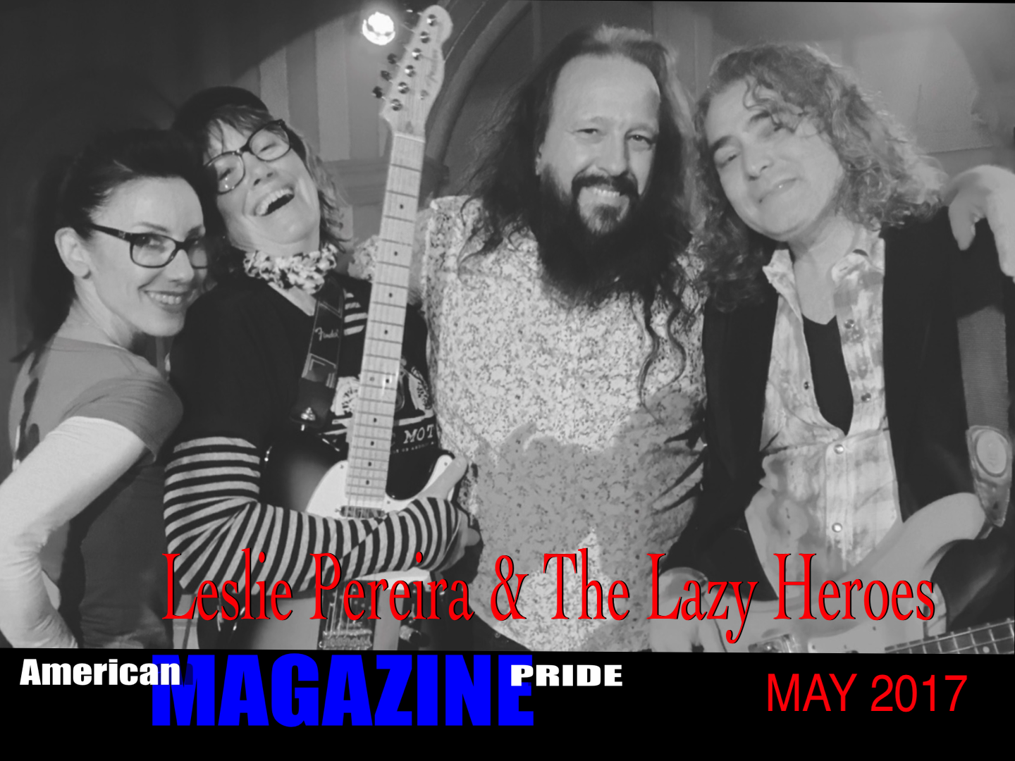 Leslie Pereira and The Lazy Heroes Punk in Los Angeles