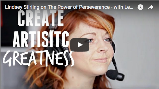 The Power of Perseverance with Lindsey Stirling