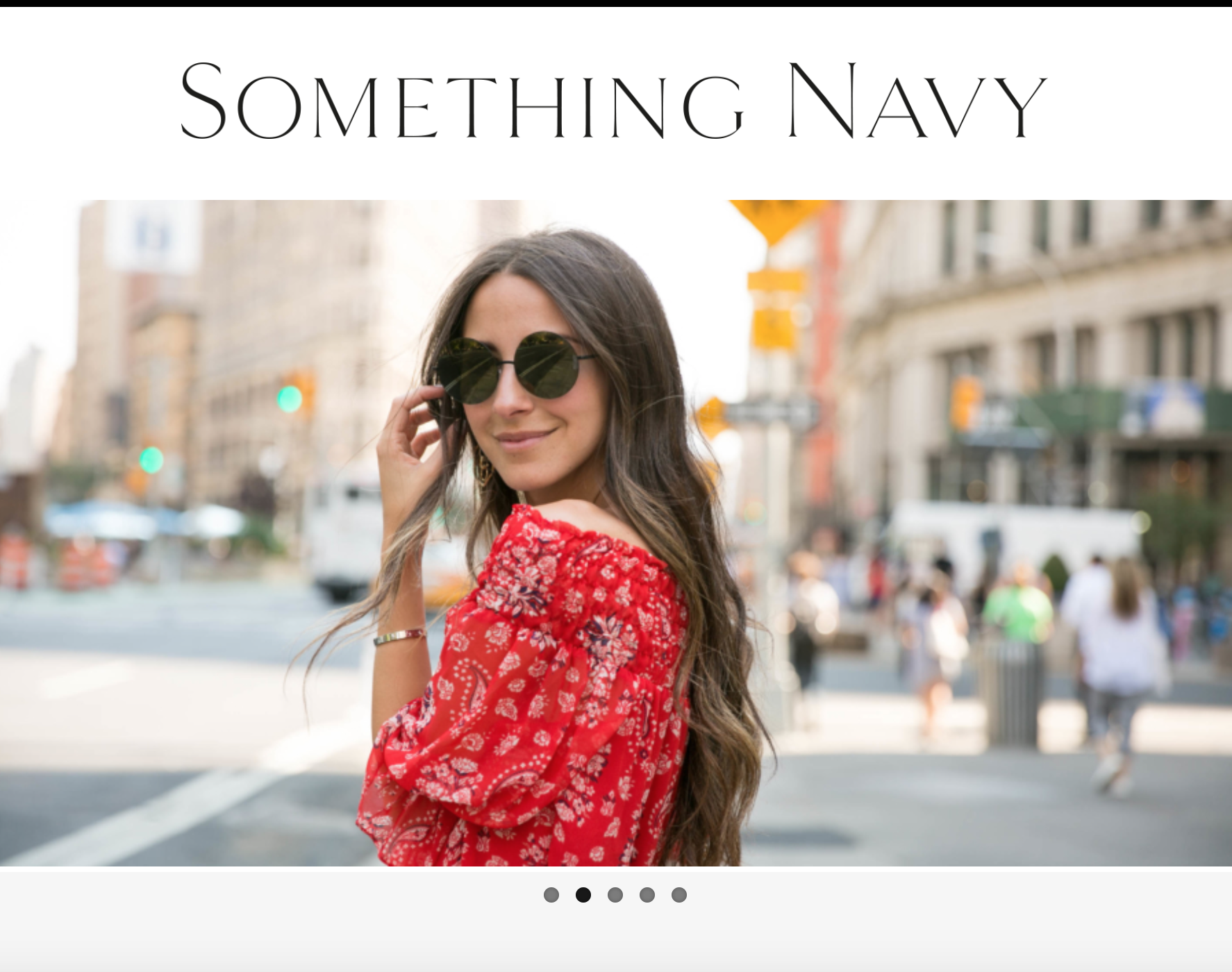 Something Navy's Arielle Nachmani on How She Became a Blogger
