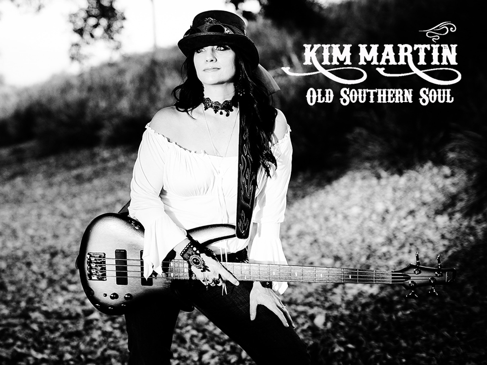 Country Singer/Songwriter Kim Martin talks about her new EP 'Old Southern Soul'
