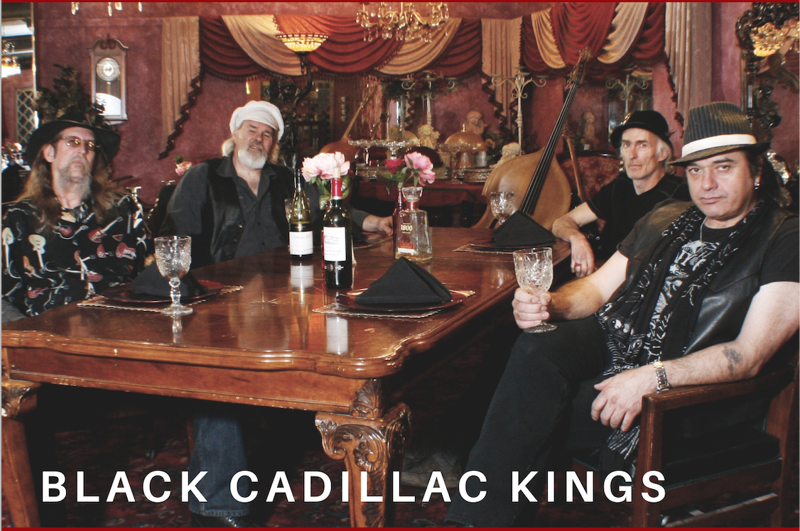 Shane Thornton Black Cadillac Kings on knowing your music path from day one