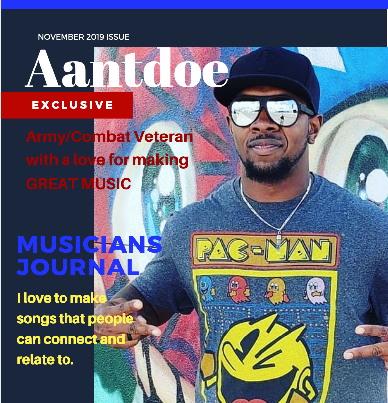 Philadelphia Hip Hop Artist and Army Veteran Aantdoe on meeting your challenges