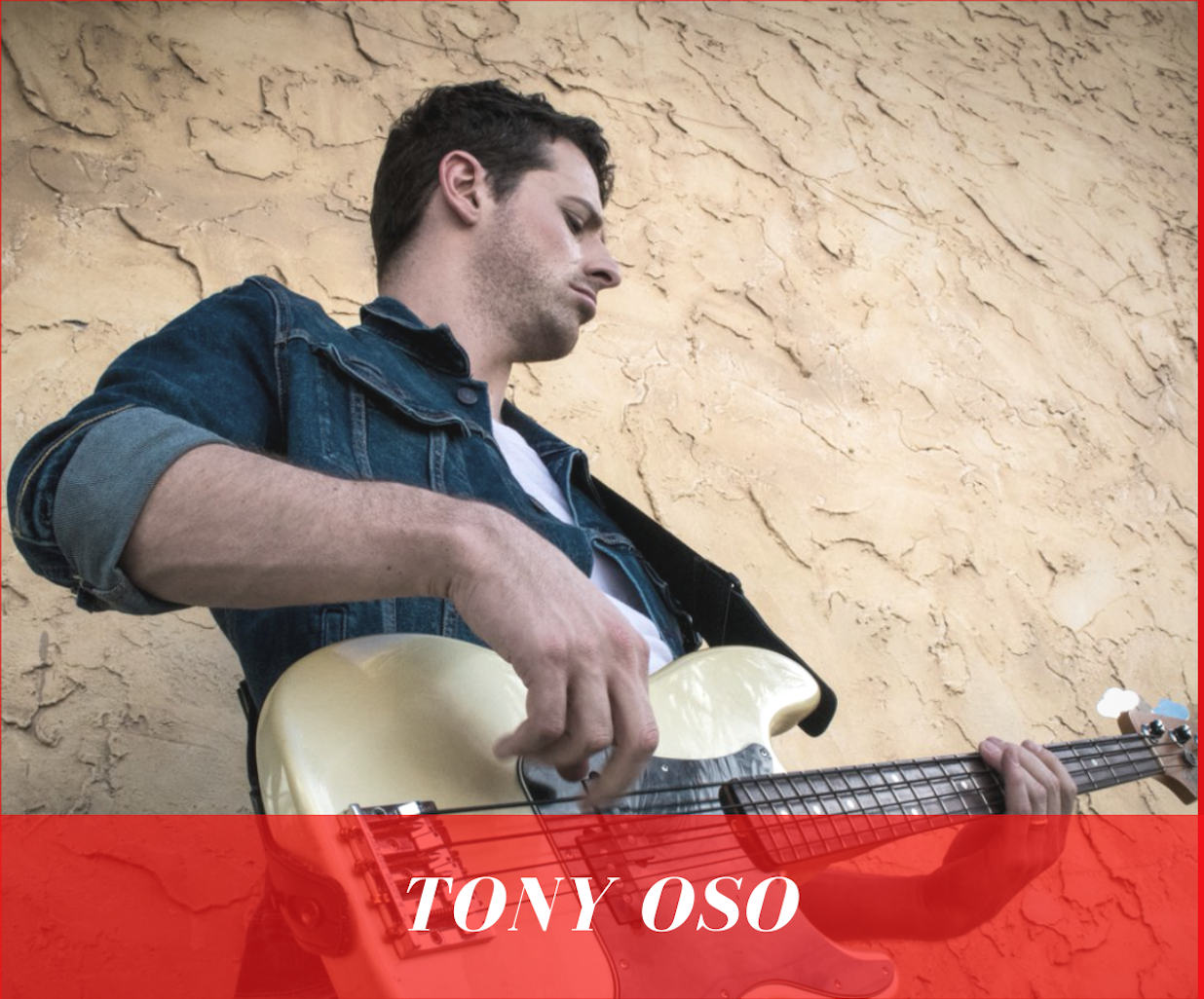 Tony Oso is Inspiring musicians to be brave