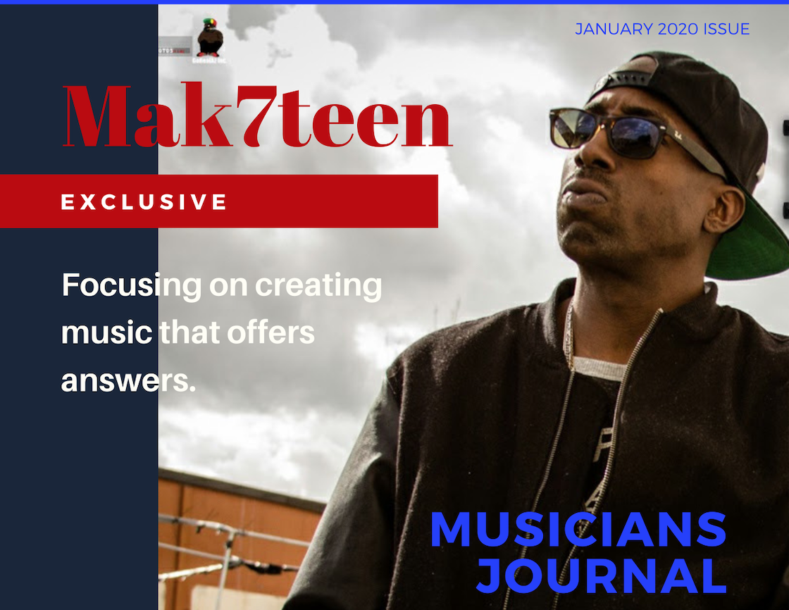 California Hip Hop artist Mak7teen embraces storytelling as a means of teaching life lessons