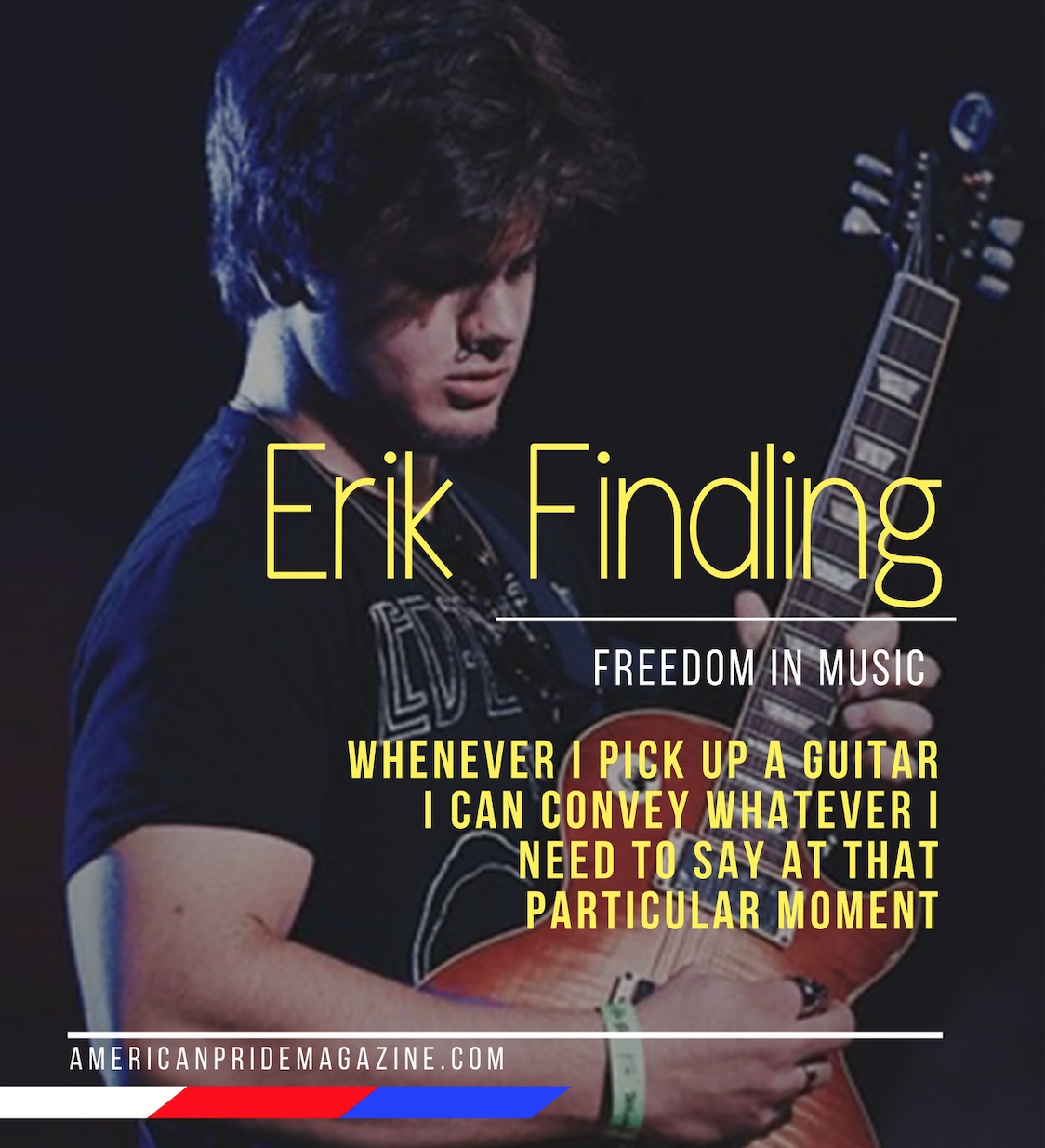 High Street's Erik Findling Talks about finding freedom in Music