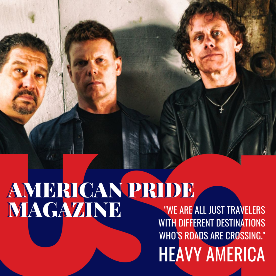 Rock Band Heavy AmericA is finding their Road in Music